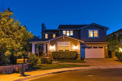 Simi Valley CA Single Family Home For Sale: $989,000
