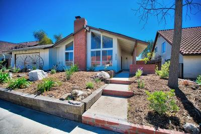 Simi Valley CA Single Family Home For Sale: $539,000