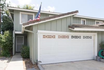 Thousand Oaks Condo/Townhouse For Sale: 311 Wynn Court