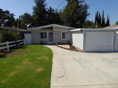 Thousand Oaks Single Family Home For Sale: 701 Glen Oaks Road