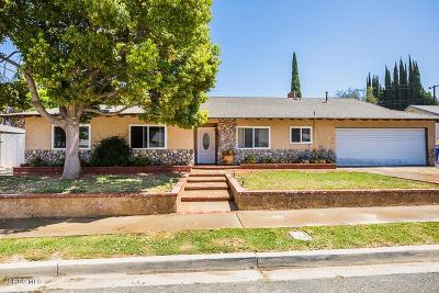 Simi Valley Single Family Home For Sale: 1276 Lundy Drive