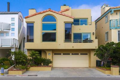 Single Family Home For Sale: 3740 Ocean Drive