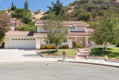 Westlake Village Single Family Home For Sale: 1600 Castleview Court