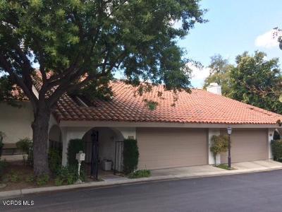 Westlake Village Condo/Townhouse For Sale: 637 Arroyo Oaks Drive