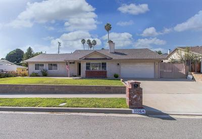 Simi Valley CA Single Family Home For Sale: $585,000