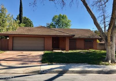 Westlake Village Single Family Home For Sale: 2836 Great Smokey Court