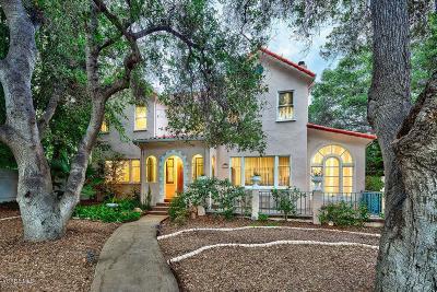 Santa Paula Single Family Home For Sale: 1025 Ojai Road
