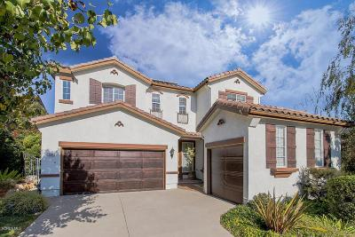 Simi Valley Single Family Home For Sale: 444 Canyon Crest Drive