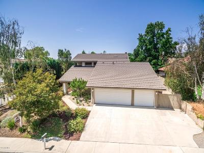 Thousand Oaks Single Family Home For Sale: 3621 Floradale Court