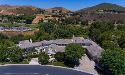 Westlake Village Single Family Home For Sale: 991 Vista Ridge Lane