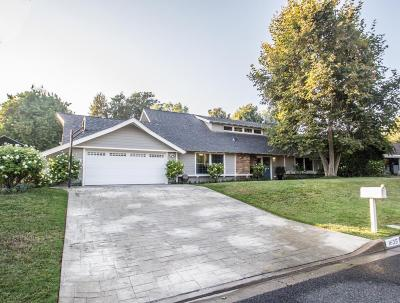 Thousand Oaks Single Family Home For Sale: 1635 Fremont Drive