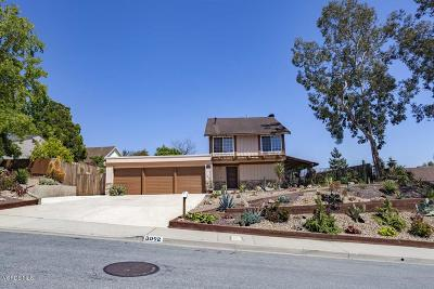 Thousand Oaks Single Family Home For Sale: 3092 Saddleback Court