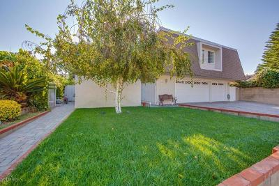 Simi Valley Single Family Home For Sale: 1724 Lee Street