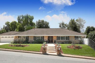 Thousand Oaks Single Family Home For Sale: 954 Camino Dos Rios