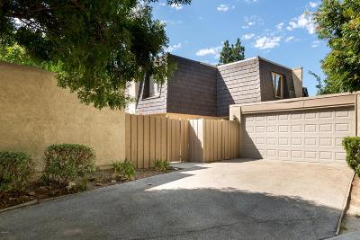 Thousand Oaks Single Family Home For Sale: 1510 Plumeria Circle