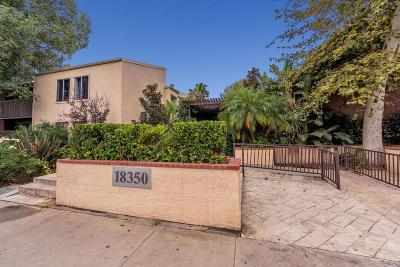 Tarzana Condo/Townhouse For Sale: 18350 Hatteras Street #207