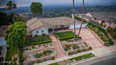 Thousand Oaks Single Family Home For Sale: 2548 Sapra Street