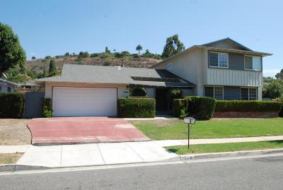 Thousand Oaks Single Family Home For Sale: 1510 Valley High Avenue