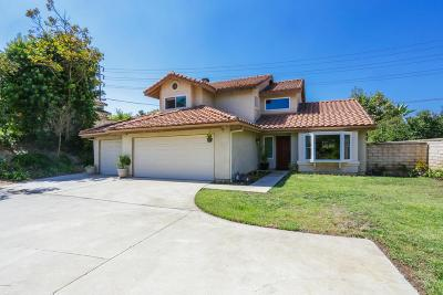 Moorpark Single Family Home For Sale: 13317 Wintergreen Lane