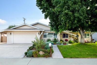 Camarillo Single Family Home For Sale: 2152 Benito Drive