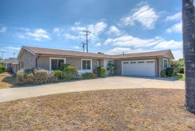 Camarillo Single Family Home For Sale: 262 Lantana Street