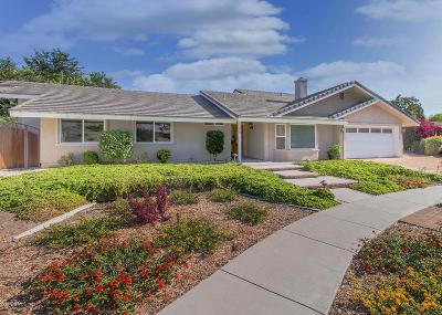 Thousand Oaks Single Family Home For Sale: 124 Erten Street