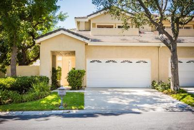 Westlake Village Condo/Townhouse For Sale: 961 Misty Canyon Avenue