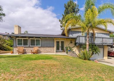 Thousand Oaks Single Family Home For Sale: 1561 Calle Artigas