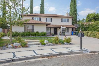 Simi Valley CA Single Family Home For Sale: $599,750