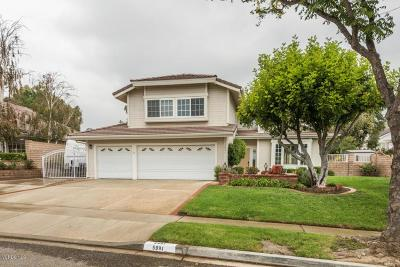 Simi Valley Single Family Home For Sale: 5991 Broken Arrow Street