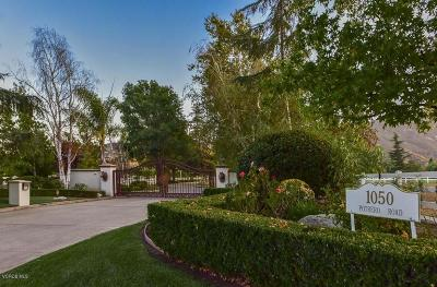 Thousand Oaks Single Family Home For Sale: 1050 West Potrero Road