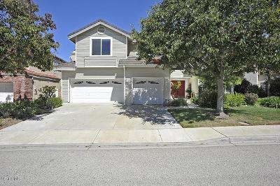 Moorpark Single Family Home For Sale: 11891 Maple Crest Street