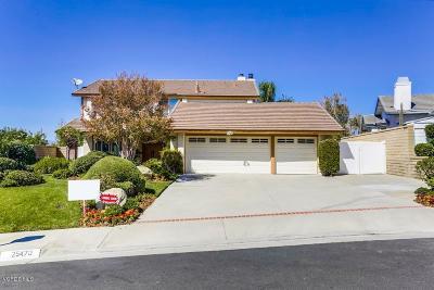 Valencia Single Family Home For Sale: 25470 Cariz Drive