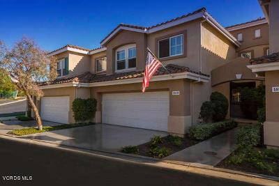 Simi Valley Condo/Townhouse For Sale: 580 Fenwick Way #B