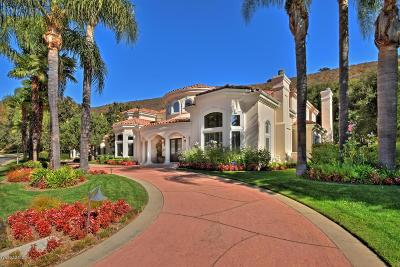 Westlake Village Single Family Home Sold: 518 Lakeview Canyon Road