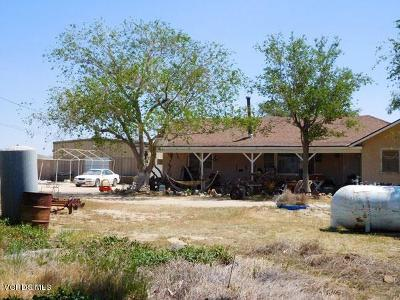 Rosamond Single Family Home For Sale: 2474 45th Street West