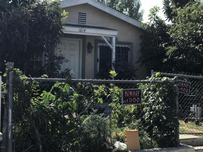 Los Angeles Single Family Home For Sale: 1814 East 105th Street