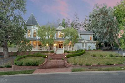 Westlake Village Single Family Home For Sale: 1607 Upper Ranch Road