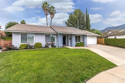 Thousand Oaks Single Family Home For Sale: 1925 West Oracle Court