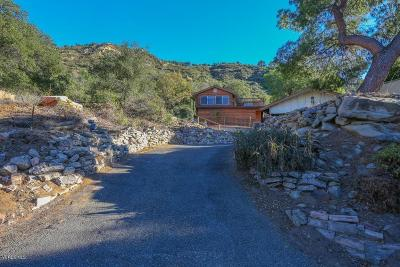 Simi Valley Single Family Home For Sale: 6834 Santa Susana Pass Road