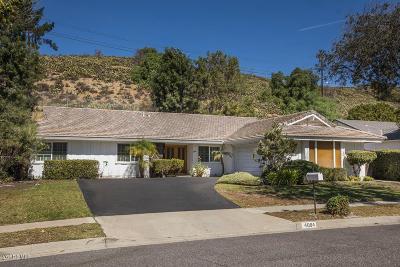 Thousand Oaks Single Family Home For Sale: 4004 Verde Vista Drive