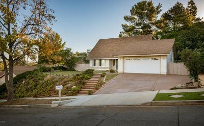 Thousand Oaks Single Family Home For Sale: 3714 Corte Cancion