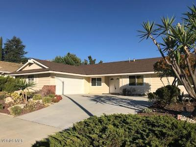 Simi Valley CA Single Family Home For Sale: $599,500