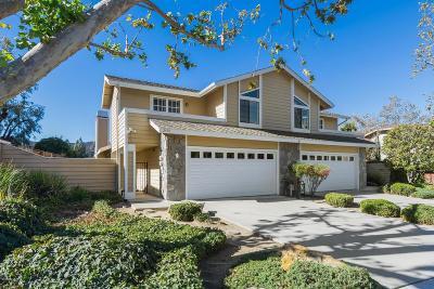 Thousand Oaks Single Family Home For Sale: 2446 Chiquita Lane