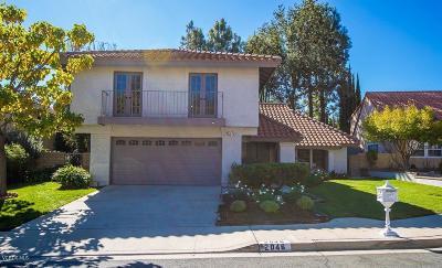 Newbury Park Single Family Home For Sale: 1090 Via Palermo