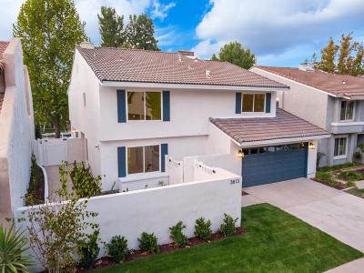 Westlake Village Single Family Home For Sale: 3813 Mainsail Circle
