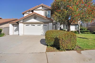 Moorpark Single Family Home For Sale: 12683 Hillside Drive