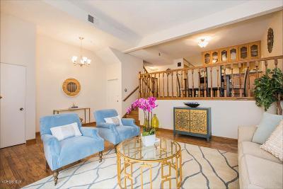 Woodland Hills Condo/Townhouse For Sale: 6226 Nita Avenue #1/2