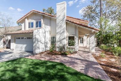 Thousand Oaks Single Family Home For Sale: 2682 Cedar Wood Place