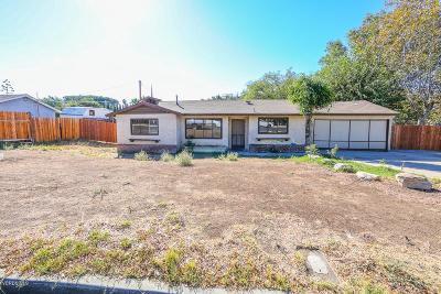 Thousand Oaks Single Family Home For Sale: 1166 Calle Tulipan